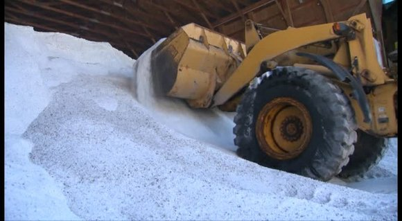 Municipalities are seeing lower costs for the road salt supplies this year with some paying as much as $50 less ...