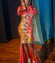 Ethnic Pageant Gown by Tekay Designs