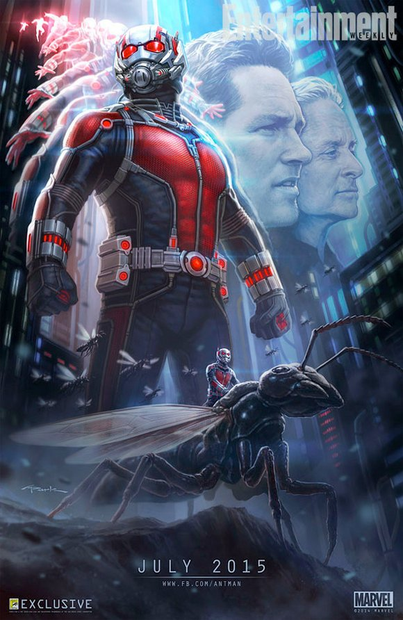Hey Hank! With Comic-Con 2014 kicking off today, we're going a bit crazy with Marvel Studios buzz, between new release ...