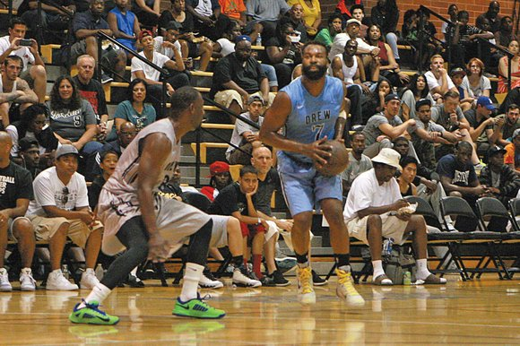 The Drew League has been around for 40 years, since Alvin Willis established the summer league at Drew Middle School ...