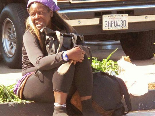 Attorneys for a homeless woman seen on video being punched by a California Highway Patrol officer along the Santa Monica ...