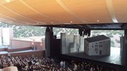 The Santa Fe Opera Theater in Santa Fe, New Mexico