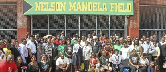 Friday, July 18, Boys and Girls High School hosted the Nelson Mandela International Day of Service.