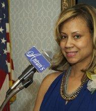 Candice Deler (President, (CSCF)