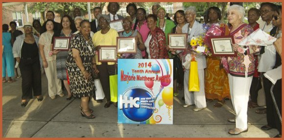 NYC Health and Hospitals Corporation hosted their 10th annual Marjorie Matthews Community Advocate Recognition Awards on the lawn of Coler ...