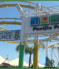 Pacific Park, located on the famous Santa Monica Pier, is a full-service amusement park and the Los Angeles area's only admission-free amusement park. (Lysa Allman-Baldwibn photos)