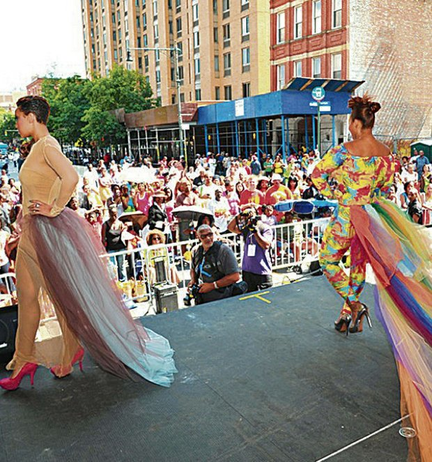 The Fashion Flava Fashion Show promotes high fashion to an appreciative crowd during Summer In The City on 135st (2012)