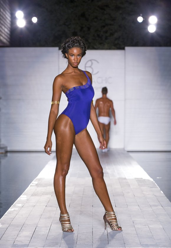 For Funk Fashion Week in Miami, Barraca Chic, a firm from Switzerland, debuted its Resort 2015 collection featuring Swarovski embellishments, ...