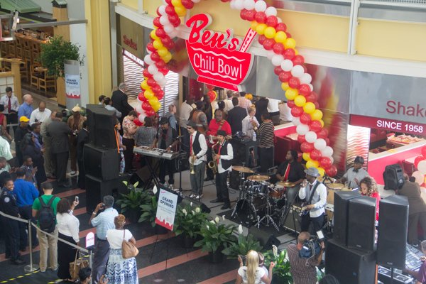 Ben's Chili Bowl's newest location at National Airport in Arlington, Va., on Wed., July 23.