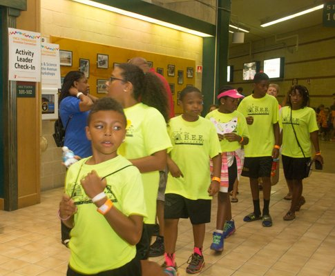 The Thingamajig Conference hosted by the YMCA of Metropolitan Washington was held at Show Place Arena in Upper Marlboro, Md., on Thurs., July 24.