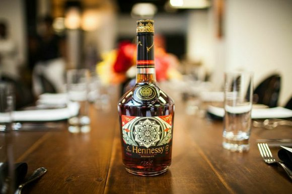 Hennesy VS debuts limited edition bottle collaboration with Obey Giant, Shepard Fairey.