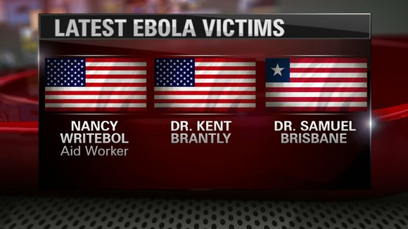 The 33-year-old doctor had been treating Ebola patients and started feeling ill, Samaritan's Purse spokeswoman Melissa Strickland said. Once he ...