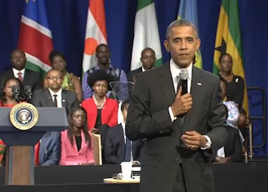 President Obama has renamed a fellowship program that educates young African leaders after former South African President Nelson Mandela.