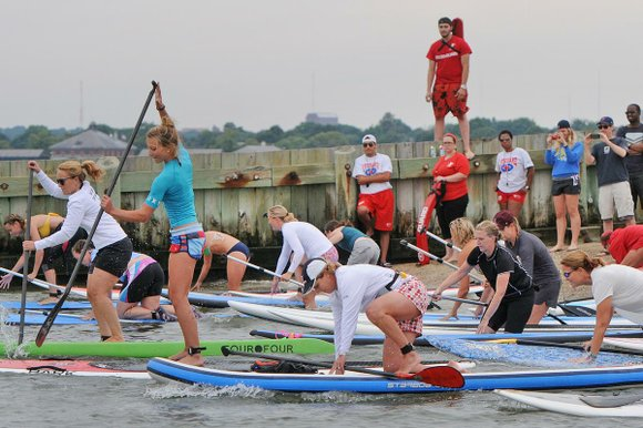 On Saturday August 9th, 100 swimmers and paddlers will take part in the JetBlue Airways Swim and Paddle for Boston ...