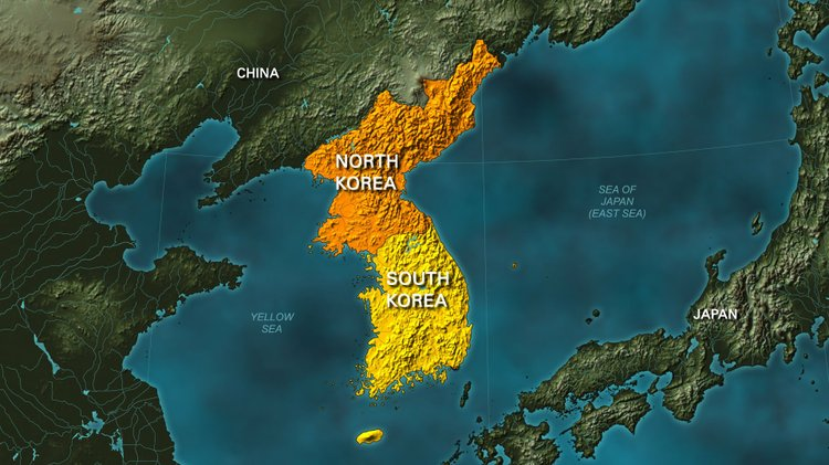 Gen. Vincent Brooks, Commander Of U.S. Army Forces In The Pacific, Said  Wednesday. Map Of North Korea ...