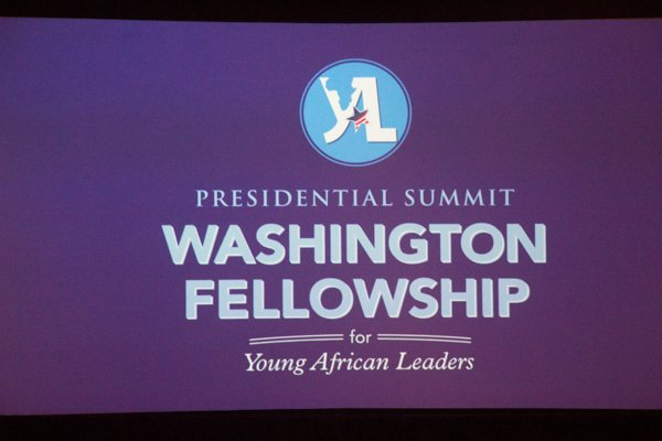 President Barack Obama's Mandela Fellowship for Young African Leaders Initiative (YALI) summit held at the Omni Shoreham Hotel in Northwest on Wed., July 30.