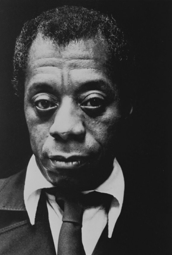 James Baldwin, a native son of Harlem, is home again, at least some of his precious letters and other artifacts ...