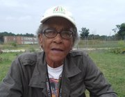 Juanita Ewell is an integral part of the success of the Cherry Hill Urban Garden. For the past four years, Ewell and a small team have worked diligently in the garden encouraging its growth.