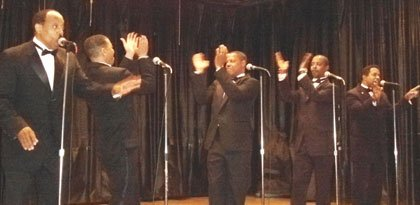 """The Palovations,"" Motown group with Triple Treat, Vision Band and others will do a tribute to Motown & the Philly sound will perform at the newly renovated Arch Social Club, 2426 Pennsylvania Avenue on Sunday, August 3, from 55-10 p.m. For tickets and information, call 410-905-0169."
