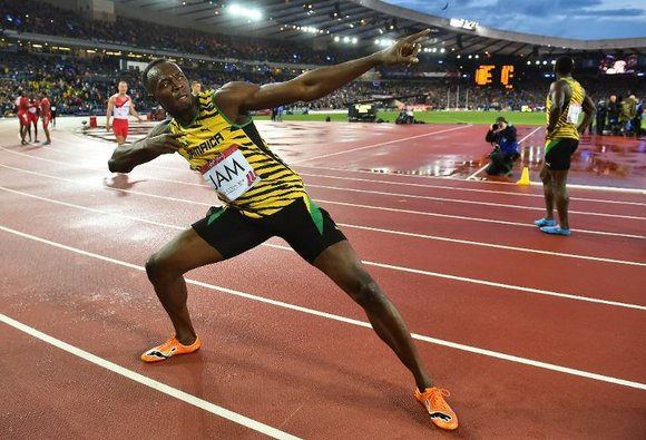 Sprint superstar Usain Bolt anchored the Jamaican team to victory in the Commonwealth Games men's 4x100m relay s England topped ...