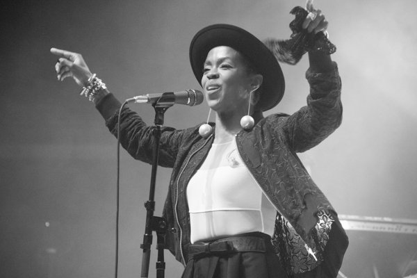 Lauryn Hill performs during 2014 Spirit Festival held at Merriweather Post Pavilion in Columbia, Md., on Sat., August 2.