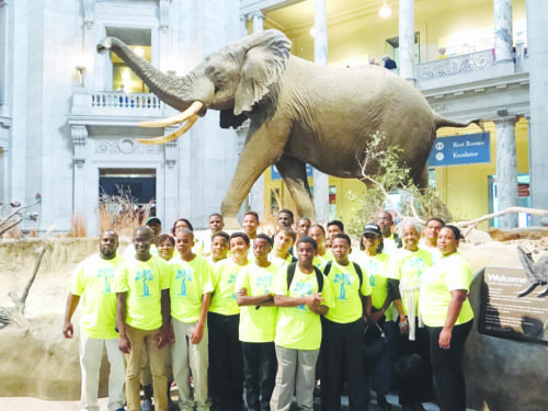 Youth from the mentorship program of the Tri-County Orthopaedic Center in Leesburg, Florida, visited some of D.C.'s landmarks during a four-day trip to the nation's capital. (Courtesy of George Whitaker)