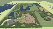 Rendering of the planned Big Marsh Bike Park and Recreation Oasis.