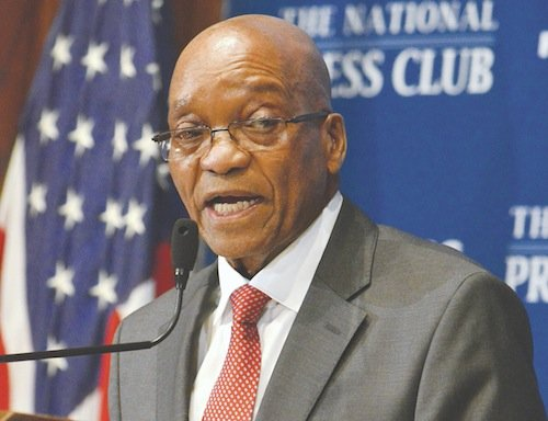 South African President Jacob Zuma told media and guests at the National Press Club on Monday, Aug. 4 that South Africa is open for business. He said that he and other leaders from African countries prefer African-led solutions to African problems.