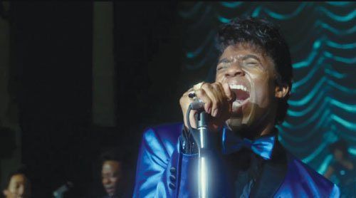 Chadwick Boseman, who played Jackie Robinson in the biopic '42,' returns to the screen to star as James Brown in the film 'Get On Up' from the director of 'The Help.'