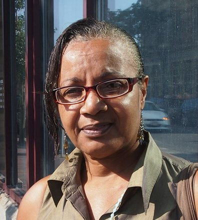 Of course. I think it's important that all people of color vote so we can have a voice in what is going on in the state. Without the vote, our voice will be silent. Your level of income does not determine your right to speak up on what is going on in the city. — Paulette Sadberry, Retired, South End