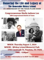 Honoring the late Congressman Mickey Leland