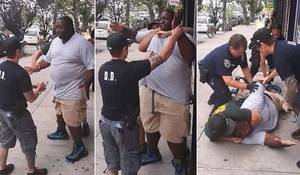 Eric Garner, Innocent father choked to death by NYPD on July 17.