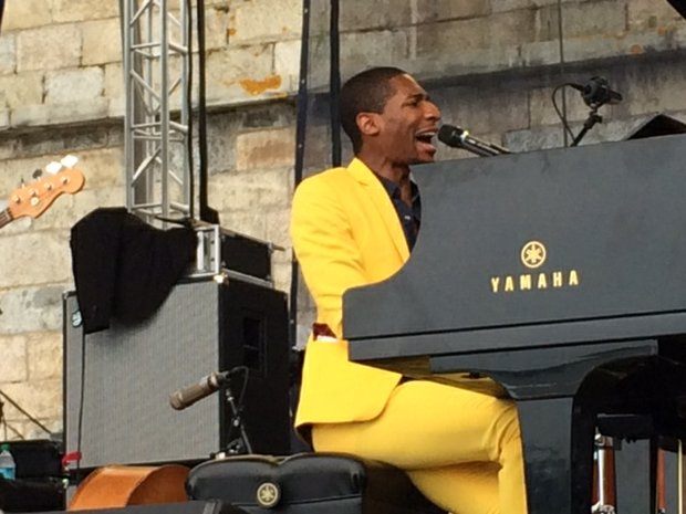 Jon Baptiste at the Newport Jazz Festival