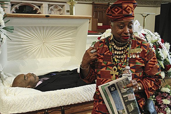 Many relatives, childhood friends and fellow activists jammed into Abyssinian Baptist Church last Thursday evening to display their love and ...