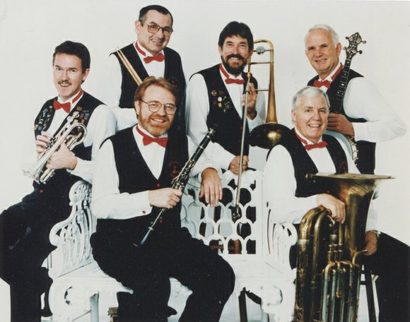 The Hotlanta Dixieland Jazz band will bring the heat and the beat to the Decatur Library on Aug. 12.