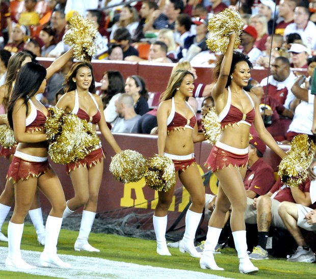 The Skins defeated the Patriots during their first pre-season game 23-6 at FedEx Field on Thursday, Aug. 7.