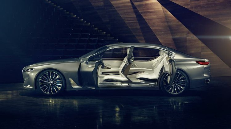 BMWs Vision Future Luxury Concept Will Make Its US Debut At The Pebble Beach Concours D