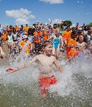 "It was a perfect day for a beach party. Temperatures in the 80s, clear skies, clean water, 1,200 hot dogs, 1,000 bottles of water, and 752 Boston area youth and teens added up to a beautiful day of fun in the sun for everyone. ""It's great to see so many kids from across the city on the beach and in the water,"" said Save the Harbor's Director of Strategy, Communications and Programs. ""What a great way to celebrate the success of the Boston Harbor Clean-up, which has made these beaches among the cleanest urban beaches in America and among the most popular beaches in the region."""