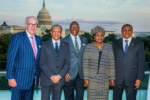 Coverage of President Obama's summit with African heads of state was largely absent in the U.S. news media.