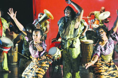 For Nana Efua Badu Osundara, Farafina Kan has been a godsend.