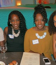 This was part of the NLE After Work Series with Nightlife Execs & The Young Black Women's Society, Inc. Held July 31, 2014 at Savvor Restaurant & Lounge, 180 Lincoln Street, Boston, Massachusetts.