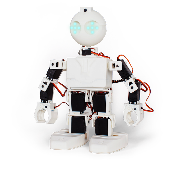 EZ-Robot Revolution JD 10+ $470 This humanoid with 43 parts and more than 200 behaviors can sync via Wi-Fi. Users have the ability to custom code and have numerous 3-D printable custom appendages to choose from. This bot is revolutionary and mind-blowing! ez-robot.com