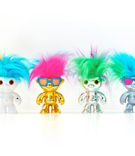 Electrokidz 6+ WowWee $19.99 Watch the cute collection of long, bright-haired characters move their hair to the beat of music and sound. wowwee.com