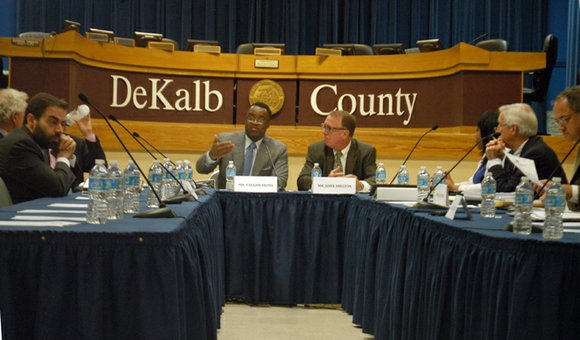 Efforts to change DeKalb's CEO form of government have been abandoned by the task force set up to study it ...