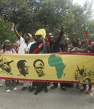 Rally for Marcus Mosiah Garvey