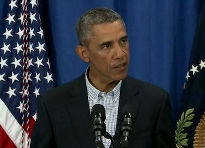 President Obama on Thursday said he spoke with Missouri Gov. Jay Nixon about the recent violence in Ferguson after the ...