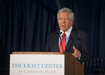 Robert Kraft and his family have made a generous gift to Partners HealthCare to create the Kraft Center for Community ...