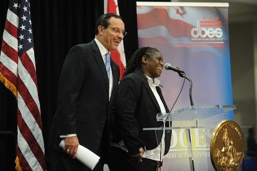"Mayor Vincent Gray announced recently that his ""One City, One Hire"" initiative has exceeded its goal of helping 10,000 unemployed ..."