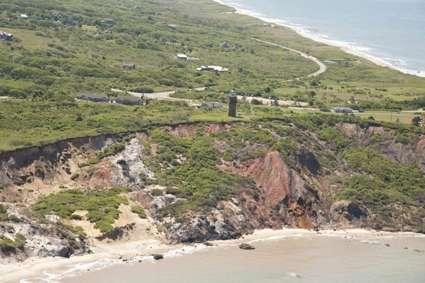 Lighthouse in Gay Head, Martha's Vineyard.  Courtesy of Massachusetts Office of Travel and Tourism