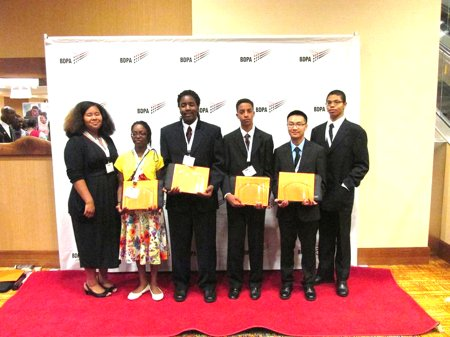 Regional High School Computer Competition champions from the National Capital Region, BDPA-DC, and BDPA NoVA competed with other top coders ...